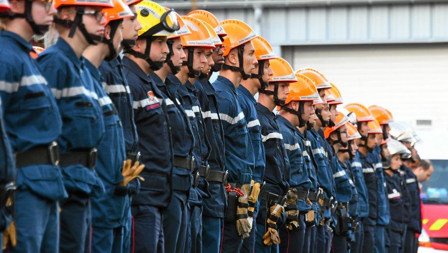 Les jeunes sapeurs-pompiers suivent une formation répartie désormais sur trois années.