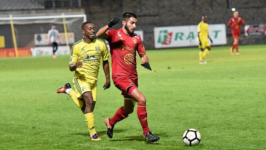 Football : le Ruthénois Jérémy Mellot n'est plus suspendu