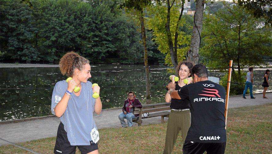 Le club de boxe de Rodez contraint à s'entraîner... dehors !