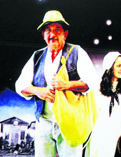 Aimé Griffoulière était présent sur l'affiche de promotion d'Hier un Village où il campait notamment le personnage du semeur.
