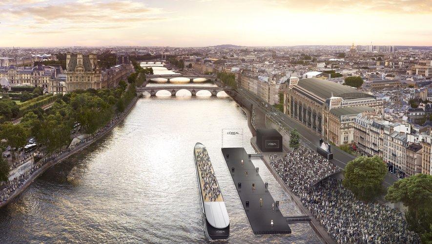 L'Oréal Paris organisera son prochain défilé mode et beauté sur la Seine.