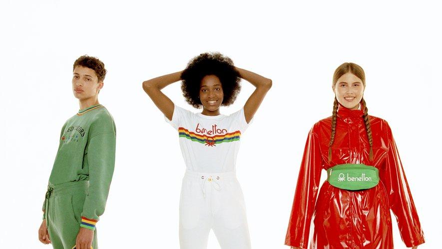 Benetton imagine toute une collection pour Selfridges.