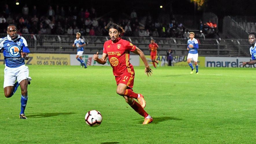 Football : Ugo Bonnet offre la victoire à Rodez sur la pelouse de Dunkerque !