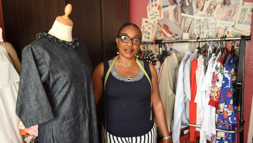 Marie-Josée Diantété, aide-soignante bordelaise qui met la couture au service des personnes âgées dépendantes