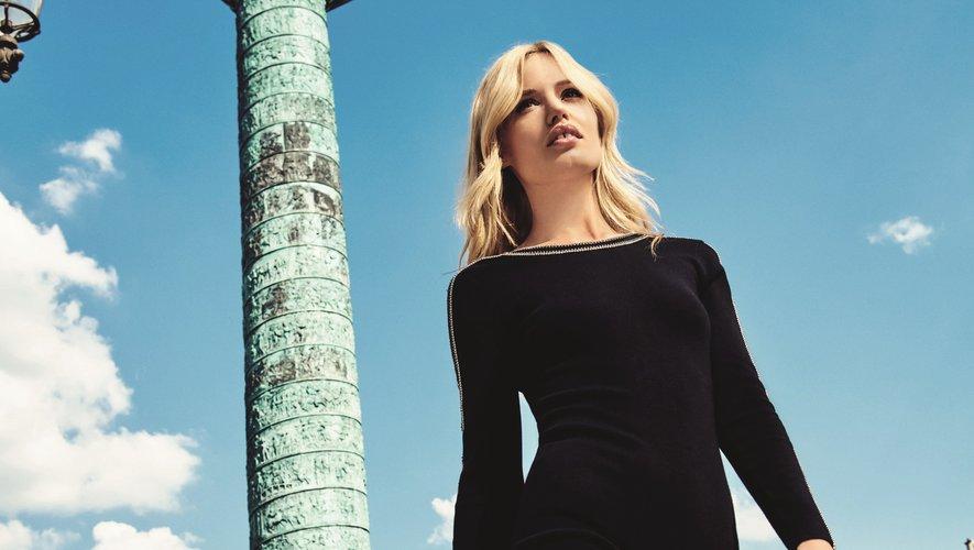 Georgia May Jagger incarne sa propre collection pour Morgan dans une campagne réalisée dans les lieux les plus incontournables de la capitale française.