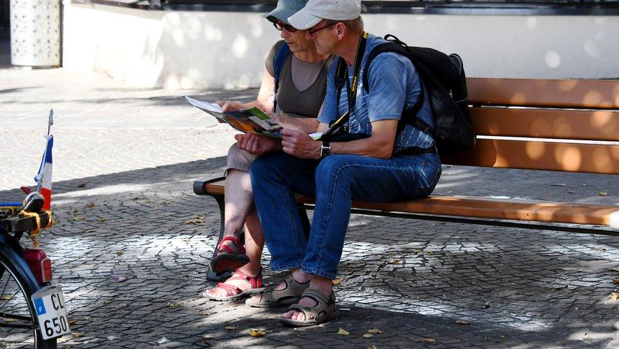 Des touristes en plus grand nombre, surtout fin août.