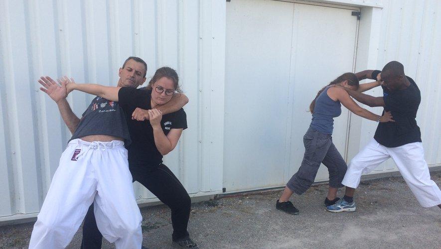 Le Sakura propose donccette saison un cours de self defense pour les femmes.