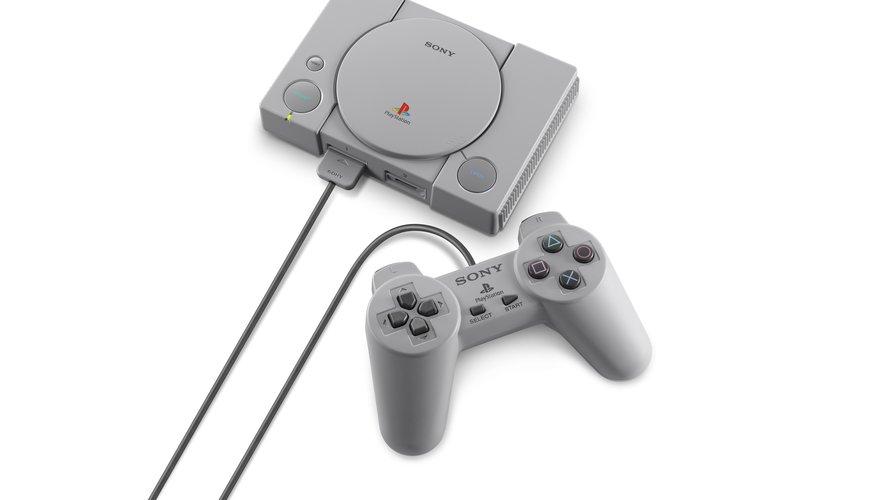La manette de la PlayStation Classic est identique à celle de la PlayStation d'origine.