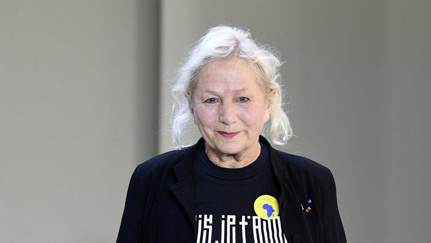 """Agnès Troublé, créatrice d'Agnès b., dont la """"grande collection d'art contemporain"""" ouvrira au printemps prochain à Paris"""