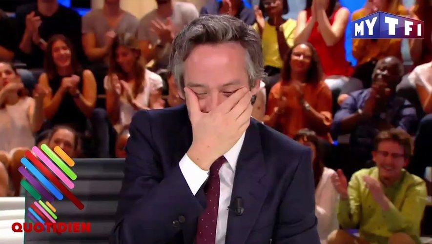 Yann Barthès, présentateur de l'émission Quotidien.