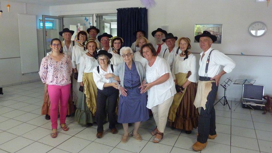 A 104 ans, il fait bon vivreà la maison de retraite la Fontanelle