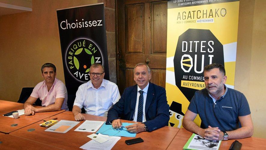 Un rapprochement naturel, au nom de l'intérêt économique départemental entre Fabriqué en Aveyron et Agatchako.