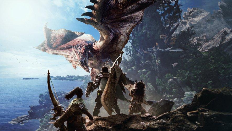 """""""Monster Hunter: World"""" a ravi critiques et joueurs dès sa sortie en janvier dernier."""