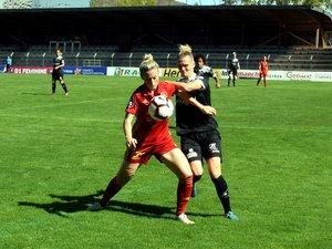 Football : les Ruthénoises s'enfoncent un petit peu plus