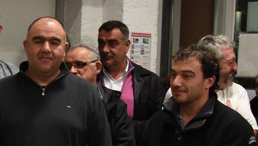 Déléris-Grès, lauréats du challenge Jean-Claude Vidalenc 2017.