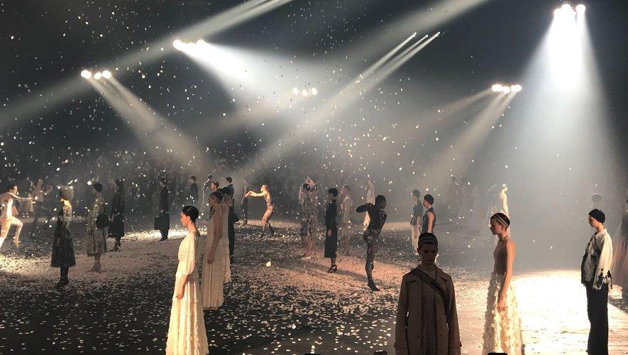 Le défilé Dior - Printemps-été 2019 - Paris, le 24 septembre 2018.