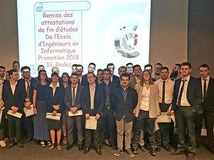 Rodez : 30 nouveaux ingénieurs diplômés à la CCI Aveyron