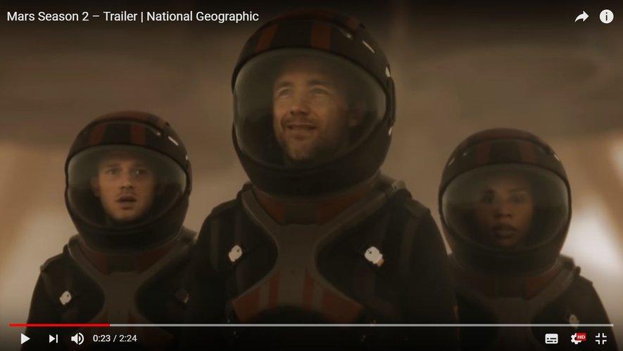 """Initialement annoncée pour le lundi 12 novembre, la diffusion de la série """"Mars"""" se fera finalement le dimanche 11 novembre prochain."""