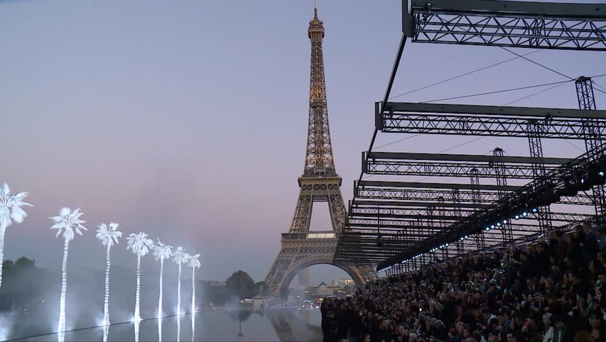 Défilé Saint Laurent - Printemps-été 2019 - Paris, le 25 septembre 2018.