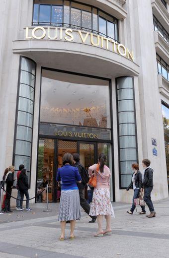 Louis Vuitton a fait l'unanimité sur le moteur de recherche Google en France à une semaine du coup d'envoi de la Fashion Week de Paris.