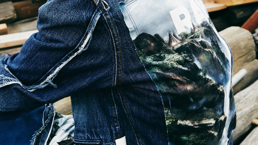 """La ligne """"indigo"""" de Jaden Smith pour G-Star Raw est disponible dans le concept store nous à Paris."""