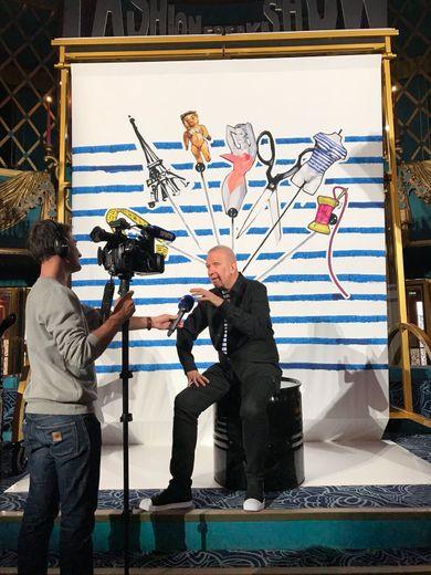 """La première du """"Fashion Freak Show"""" de Jean Paul Gaultier aux Folies Bergère."""
