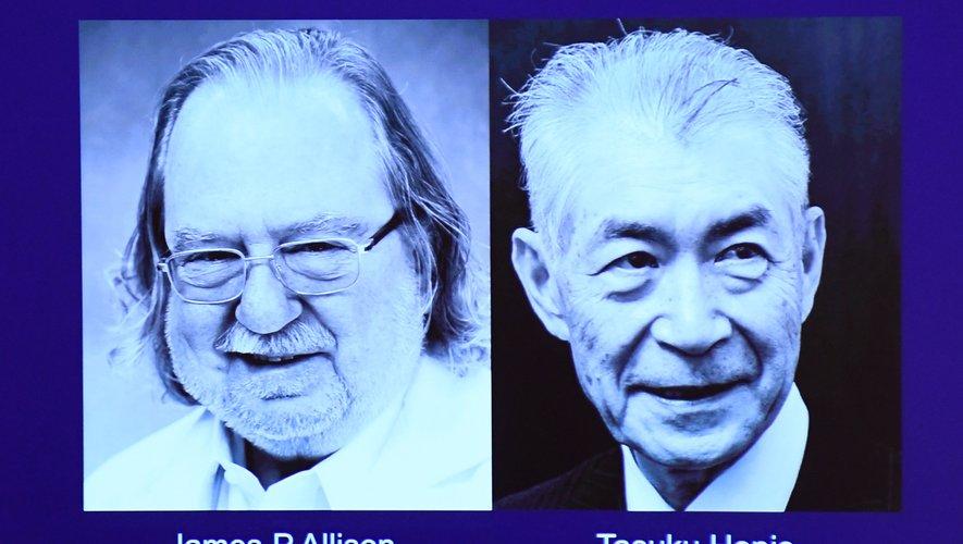 Le prix Nobel de médecine a été attribué à l'Américain James P. Allison et au Japonais Tasuku Honjo pour leurs recherches sur l'immunothérapie