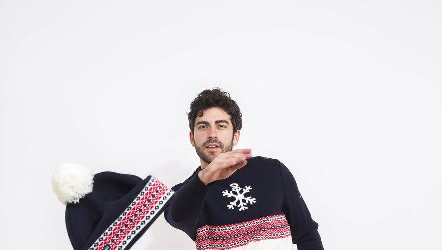 Les marques Saint James et Faguo unissent leur savoir-faire pour la conception d'un pull et d'un bonnet de Noël.