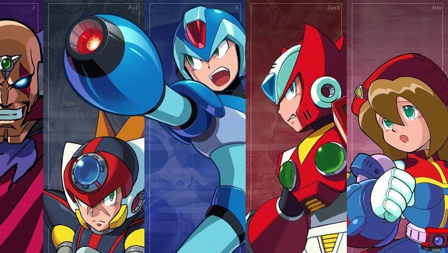 """La compilation """"Mega Man X Legacy Collection"""" est disponible depuis cet été"""