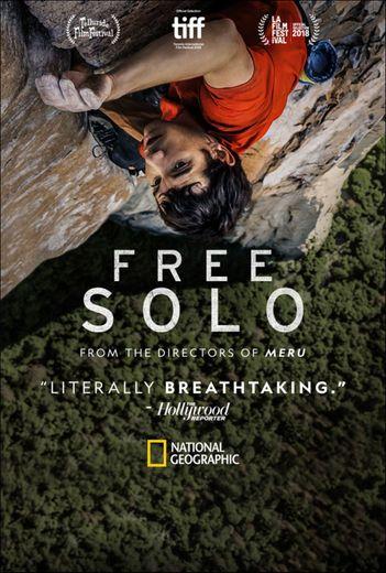 """Le documentaire """"Free Solo"""", produit par National Geographic, sera diffusé en France à la télévision en mars 2019"""