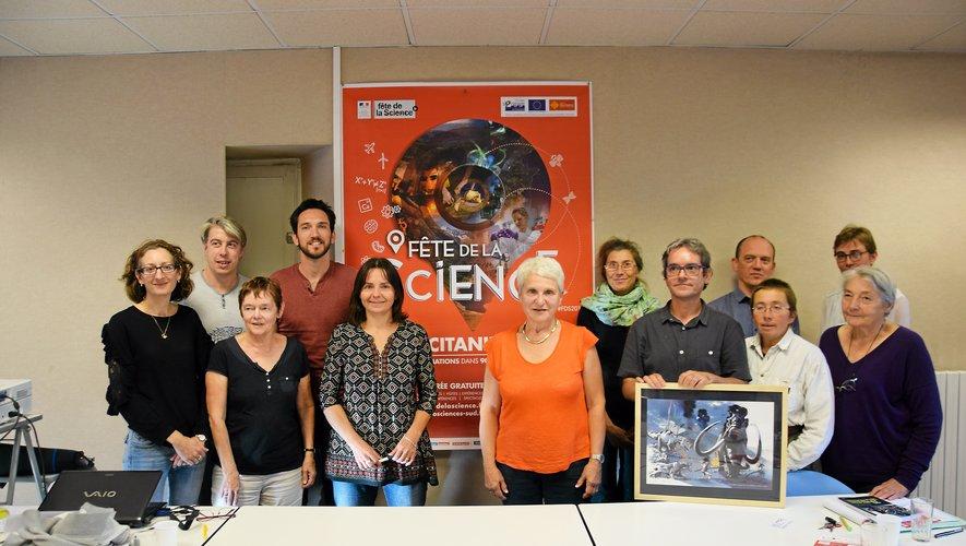 Il  y a toujours une forte mobilisation  autour de Sciences en Aveyron pour la fête de la science.