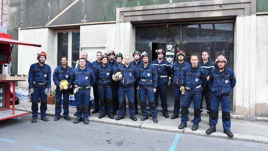 Les sapeurs-pompiers étaient en manœuvre