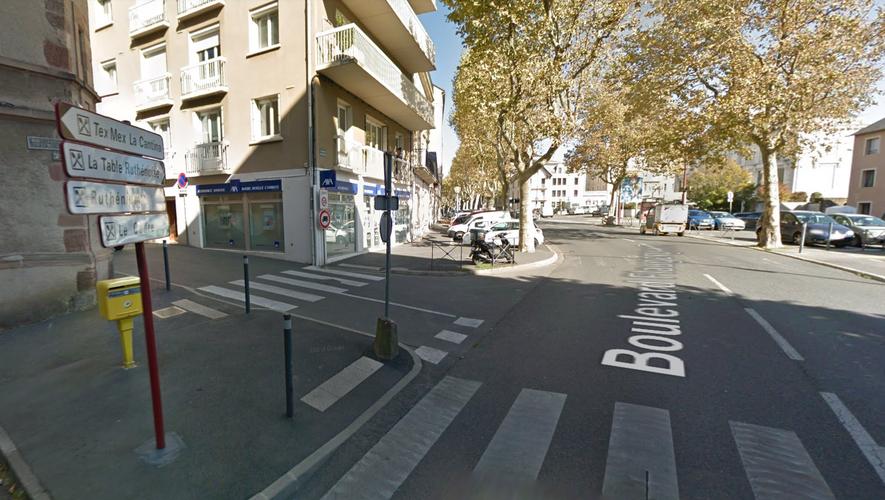 Les faits se sont produits boulevard Flaugergues, à Rodez.