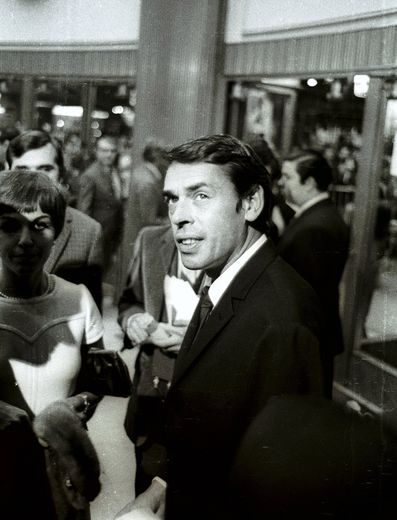 JACQUES BREL, PARIS, FRANCE - 1967