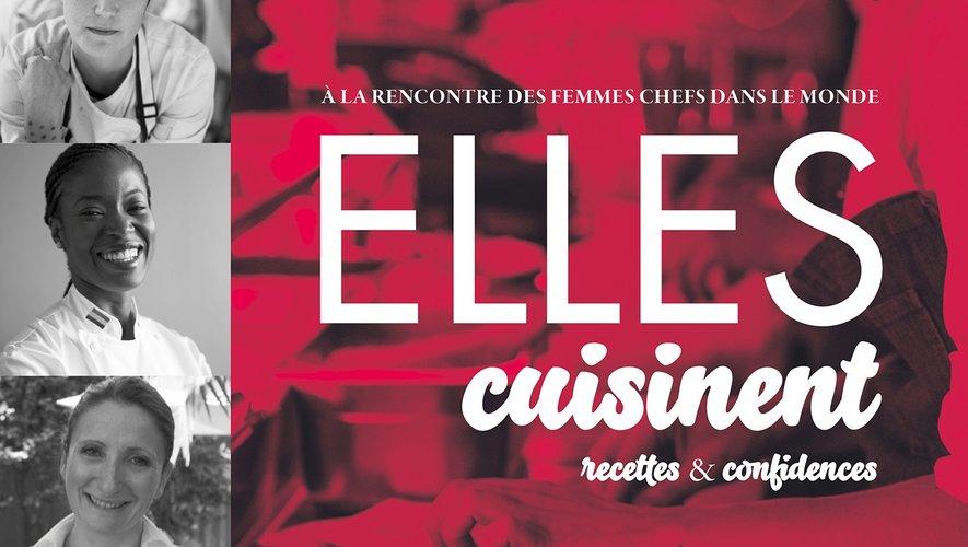 """""""Elles cuisinent"""", Vérane Frédiani, Hachette Cuisine, 39,95 euros, parution le 14 novembre 2018"""