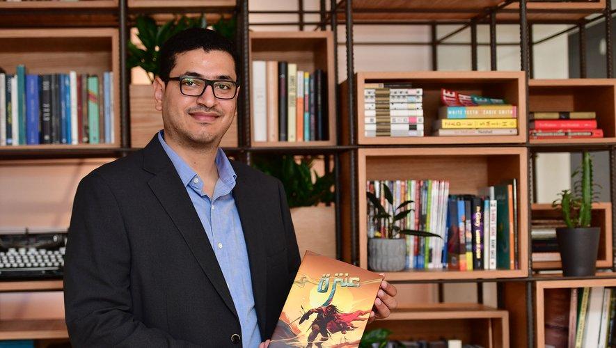 """Antara est """"le meilleur choix pour un super-héros arabe"""", indique Moumen Helmi, l'auteur égyptien de cette BD."""