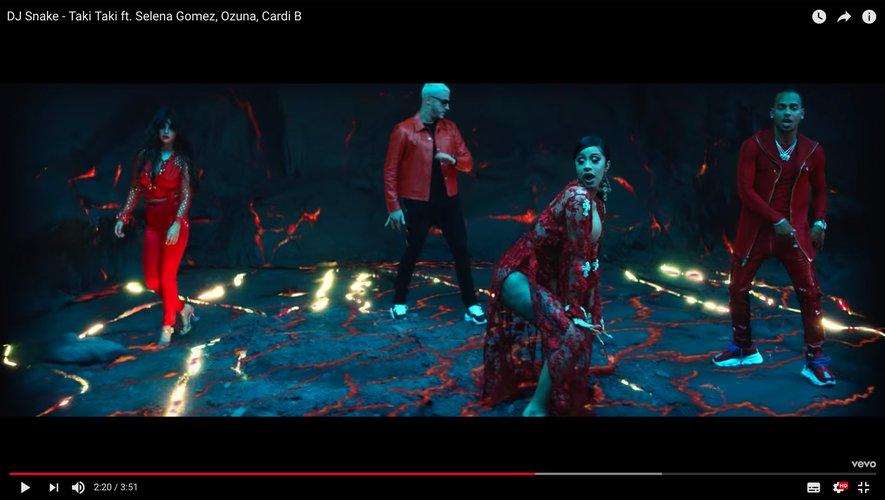 """Taki Taki"", le nouveau tube signé DJ Snake avec Selena Gomez, Ozuna et Cardi B."