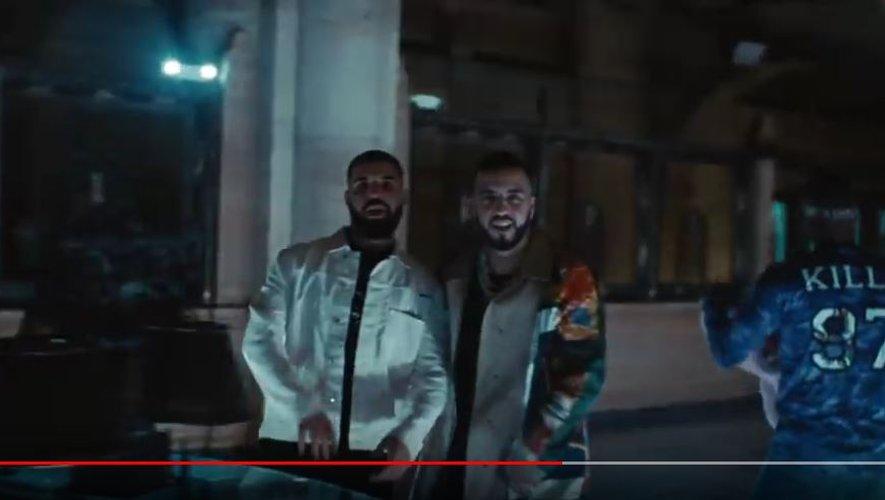 """Capture d'écran vidéo de """"French Montana - No Stylist ft. Drake""""."""
