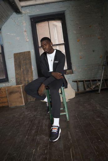 """Adidas Originals a fait appel à l'actuel champion du monde de football Paul Pogba pour incarner les nouvelles silhouettes de sa sneaker """"P.O.D-S3.1""""."""