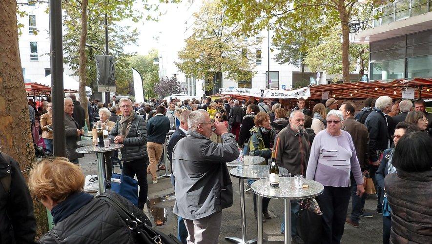 50 000 visiteurs  attendus ce week-end quartier de Bercy à Paris. Pour profiter du meilleur de l'Aveyron.