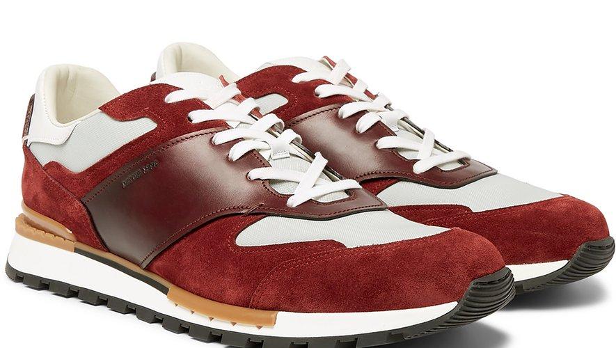 Les sneakers signées Berluti pour Mr Porter.