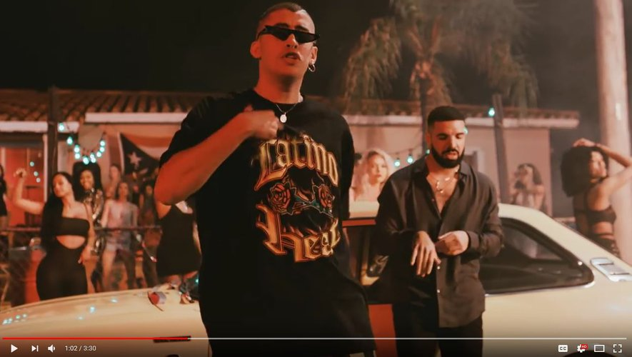 """Bad Bunny feat. Drake - Mia ( Video Oficial )"""
