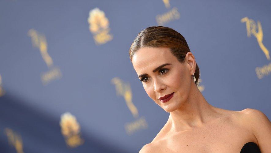 """Sarah Paulson retrouvera Sandra Bullock dans le drame """"Bird Box"""" de Susanne Bier, le 21 décembre prochain aux Etats-Unis."""