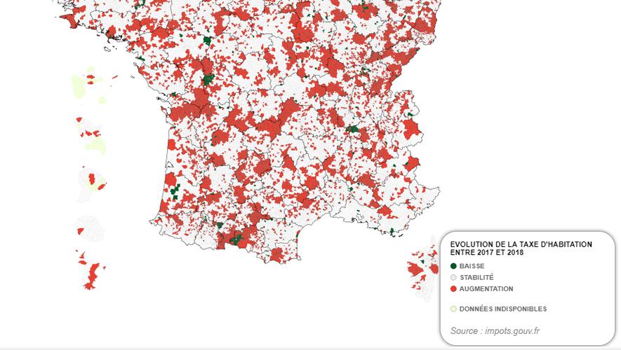 Taxe d'habitation : ces communes de l'Aveyron où le taux a augmenté en 2018