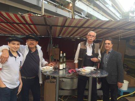La dégustation de tripous a démarré tôt ce samedi à Bercy.