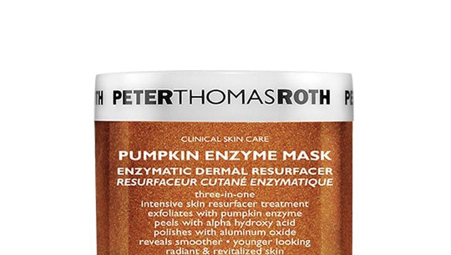 PUMPKIN ENZYME MASK chez Peter Thomas Roth.