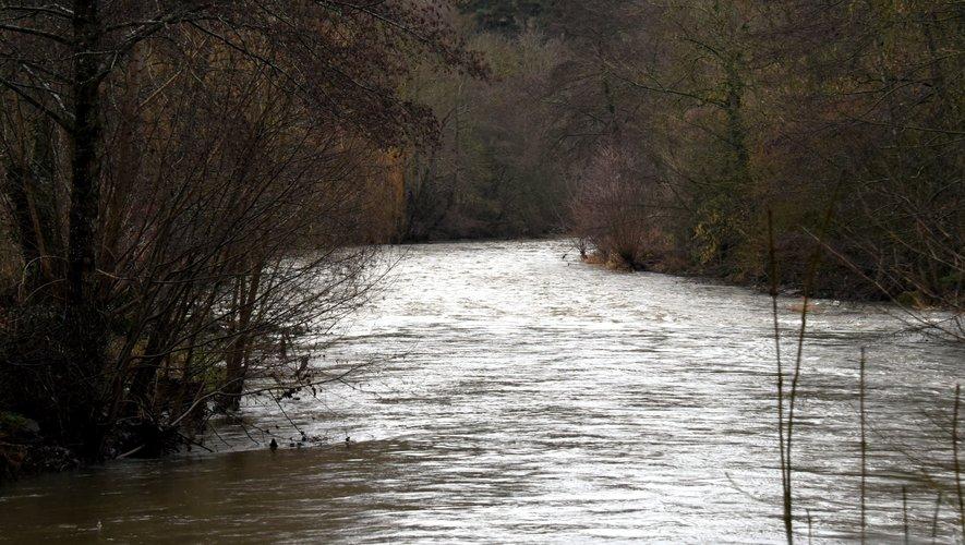 Vigilance sur la montée rapide de certains cours d'eau aveyronnais.