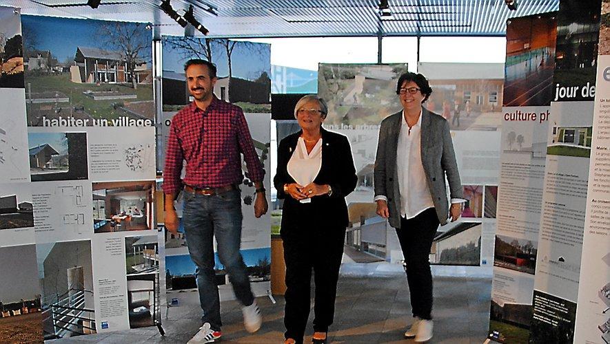 Vingt-cinq projets composent l'exposition itinérante, qui fait halte à Millau pendant 4 jours.