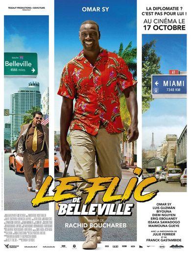 """Omar Sy tient le premier rôle dans """"Le flic de Belleville"""" de Rachid Bouchareb."""