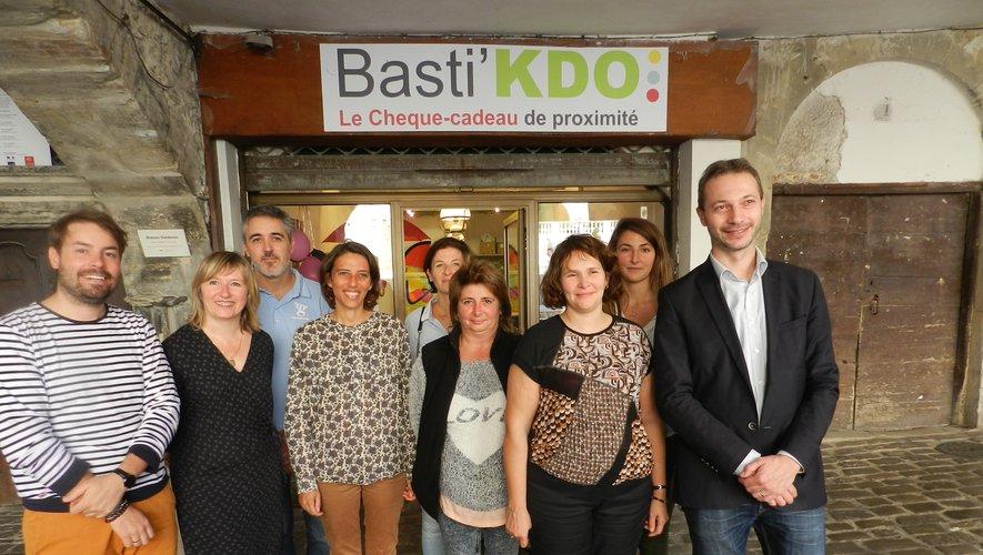 L'association Commerces en bastide a soufflé la première bougie de son Basti'Kado avec des témoignages de chefs d'entreprise ou de salariés.